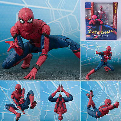 New Figuarts Marvel Spider-Man Homecoming Spiderman Hero Action Figure Toys Gift