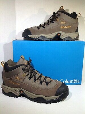 50c98aed538 MENS NWOT COLUMBIA Black Cascadian $150 Summit Hiking Boots Shoes ...