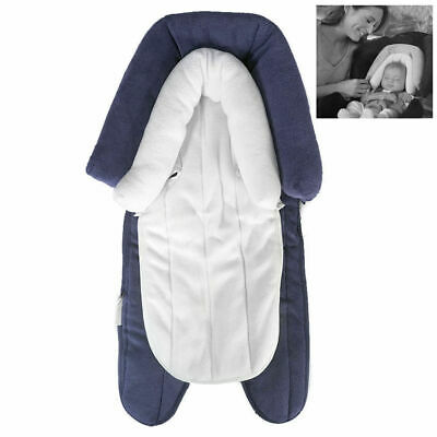 Baby Infant Cushion Pad Padding Head/Neck Support for Car Seat/Stroller - Navy