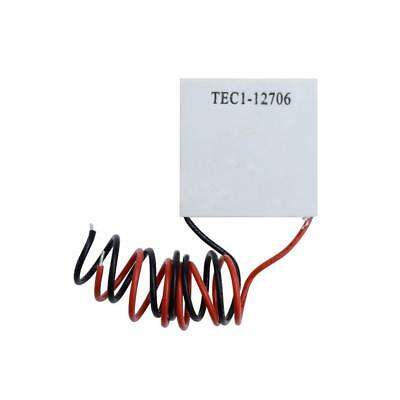 2pc TEC1-12706 Heatsink Thermoelectric Cooler Cooling Peltier Plate Module White