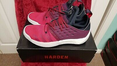 4230fc7eb33a ADIDAS HARDEN VOL.2 Red Ruby Mens Basketball Shoes Size 11.5 ...