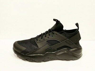 24b83d524aec Nike Air Huarache Run Ultra Mens Black Mesh Running Shoes Size 9.5 - 819685- 002