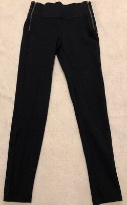86ebe65e781be9 Zara Trafaluc Collection Side Zippers Skinny Leggings Blue Pants Extra  Small d