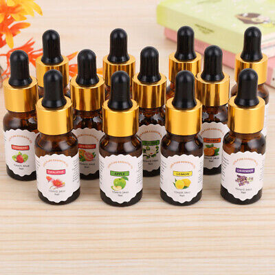 Home Aromatherapy Essential Oil  Natural Pure Fragrances Air Refreshing 10ml