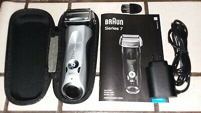 Braun shaver Series 7 model 7893s in opened box