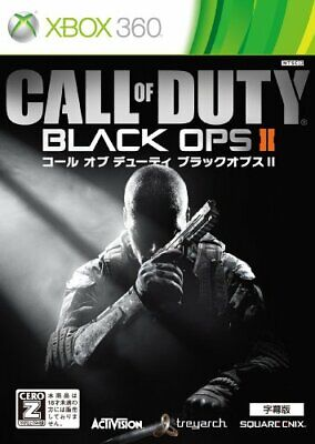 Usé Xbox 360 Call Of Duty: Black Ops II Japon