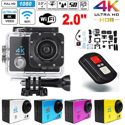 SJ9000 Action Cam 2'' 4K WiFi Digital Kamera Sport DV DVR Wasserdicht 16MP 1080P