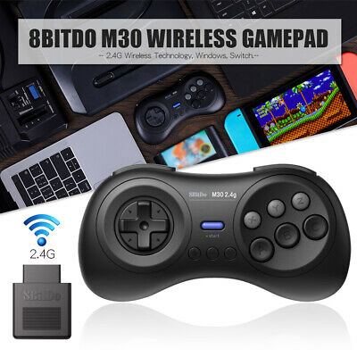 8Bitdo M30 2.4G Wireless Handle Gamepad Controller Receiver For Switch Window AU
