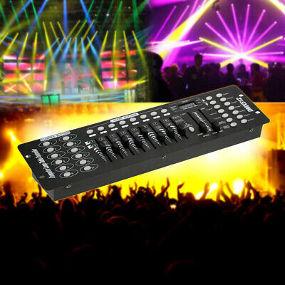 192 Channels DMX512 Controller Console Party DJ Disco Stage Light Operator Y4W3