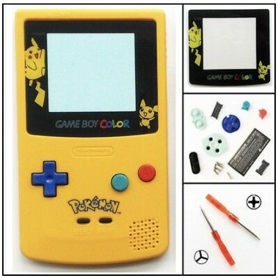 Coque Gameboy Color Pokemon Shell Rechange Replacement