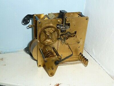 1950's FHS Floating Balance Westminster chime clock movement for spares
