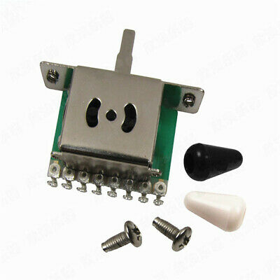 Pickup 5 Way Selector Switches Toggle Leaver Switch for Tele Strat Guitar