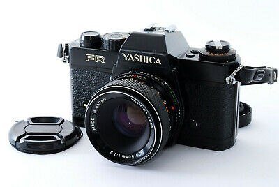 【AS IS】Yashica FR Black 35mm Film Camera + DSB 50mm f1.9 Lens From Japan #409447