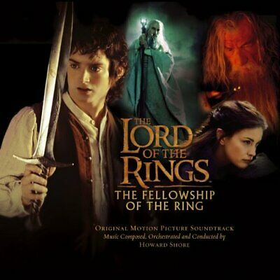 Soundtrack: Howard Shore - The Lord of the Rings: Fellowship of the Ring CD NEW