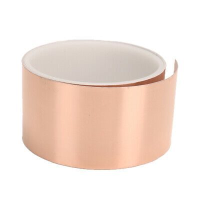 Copper Foil Tape EMI Shielding for Guitars & Pedals / 6 feet x 2 inches Durable