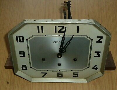 Vedette Art Deco French Westminster chime wall clock movement for spares