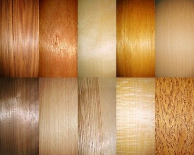 Real Wood Veneer 20 Sheet Selection For Marquetry,box Making,crafts,hobbies