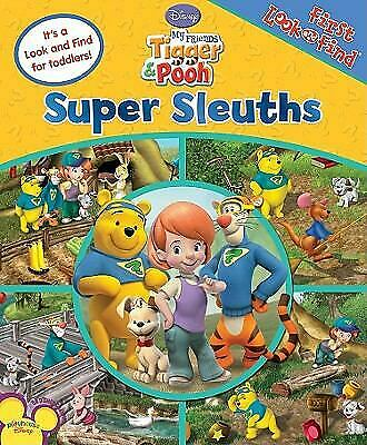 First Look and Find Tigger and Pooh Super Sleuths