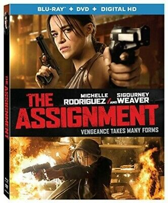 The Assignment (2016 Michelle Rodriguez) (Tomboy) (2 Disc, With DVD) BLU-RAY NEW