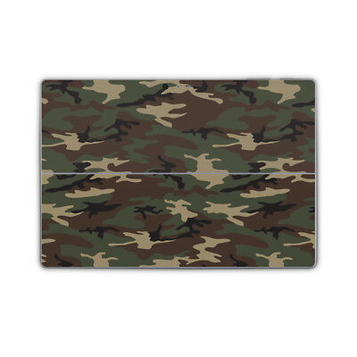 Camouflage Army Vinyl Skin Sticker Wrap Printed Cover to fit Surface Pro Models