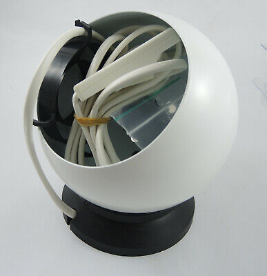 Vintage Danish Modern Lyfa type 513 Magnetic Ball Sconce Light White Unused!!!