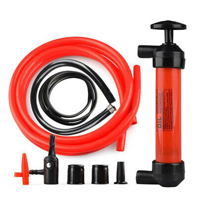 AU Oil Fluid Extractor Manual Vacuum Fuel Petrol Pump Transfer Syphon Suction #Z