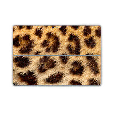 Leopard Spots Removable Vinyl Skin Sticker Wrap Cover to fit Surface Pro