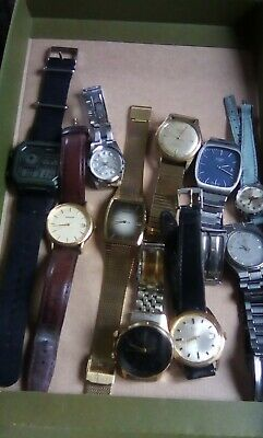Job lot of mechanical and Quartz Watches, All In Working Order  or need batterys