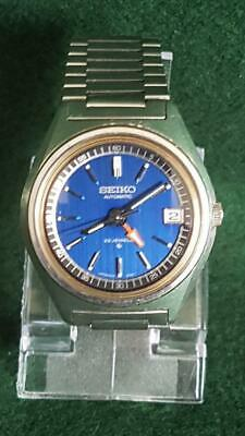 1970s Seiko GMT Duo Time 6306-7001 Wristwatch Auto Movement w Date Feature
