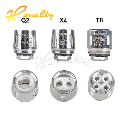 5Pcs SMOK² TFV8 Baby Coil Head Cloud Beast Replacement for V8 Baby Q2 T8 T6 M2