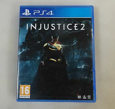 Injustice 2 Sony PlayStation PS4 Game