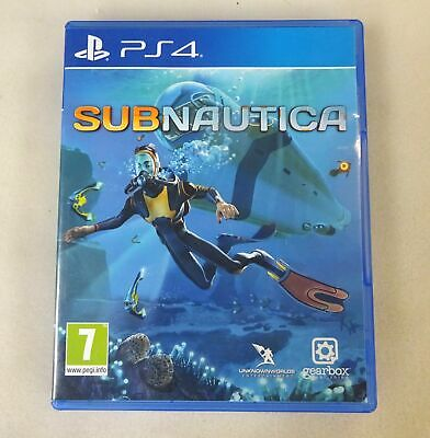 Subnautica Sony PlayStation PS4 Game