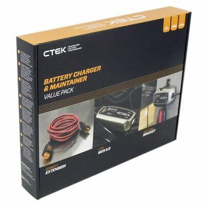 CTEK MXS 5 Battery Charger Value Gift Pack