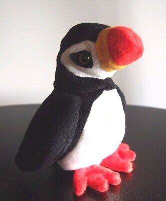 "Ty Beanie Babies ""Puffer"" The Puffin Bird DOB 3/11/1997 - Mint SPECIAL OFFER!!"