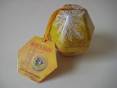 NEW Burt's Bees A Bit of Burts Bees BEESWAX KIT hand salve lip balm travel gift