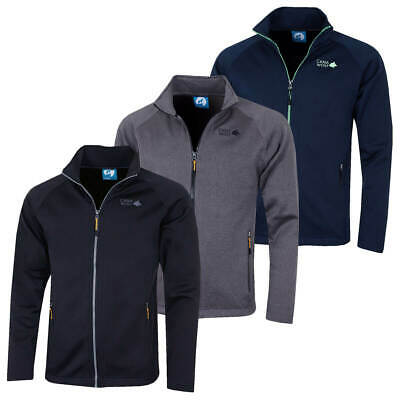 Cana Wolf Mens 2019 Thermal Fleece Full Zip Stretch Outdoor Jacket 69% OFF RRP