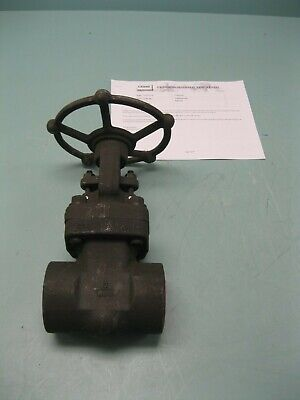 "2"" Crane 800# FS Socket Weld FB3604XUW*020 Gate Valve NEW Z38F (2409)"