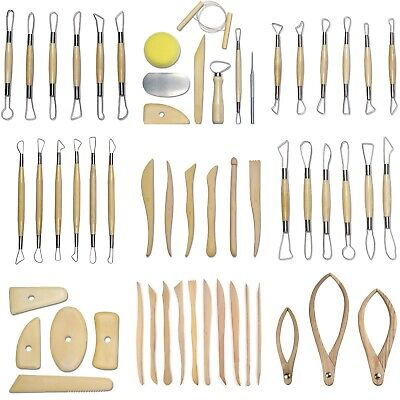 Pottery Tool Sets - Clay Ceramic Sculpting Cutting Calipers Moulding - 9 Choices