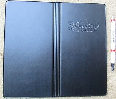 Yuengling Beer Pen & Server Book Wallet Waitress Check Money Credit Card Holder