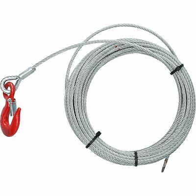 12m Heavy Duty Winch Cable 1000kg Cast Snap Hook Trailer Boat Winch Strap