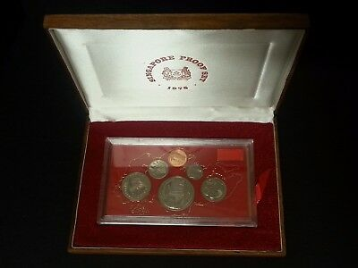 Singapore 1975 proof set