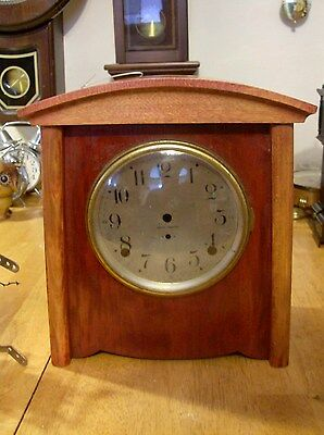 Seth Thomas 8 Day Mantel clock Case. Parts or Repair (Case Only)