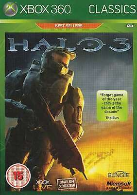 Xbox 360 - Halo 3  **New & Sealed** (Xbox One Compatible)