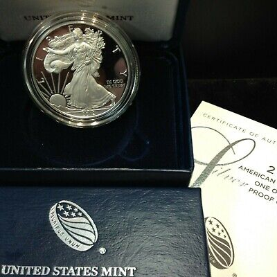 2019-W American Eagle SILVER PROOF (OGP & Papers) San Francisco