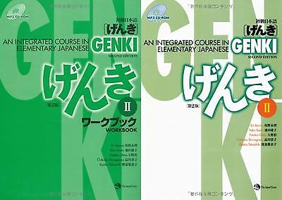 USA GENKI 2 An Integrated Course in Elementary Japanese Textbook Workbook Set FS