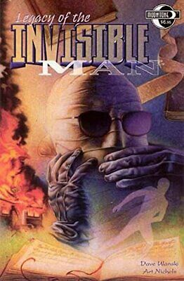Legacy Of The Invisible Man by Ulanski, Dave Paperback Book The Cheap Fast Free