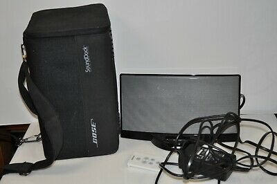 Bose SoundDock Series I with Carrying case + Remote