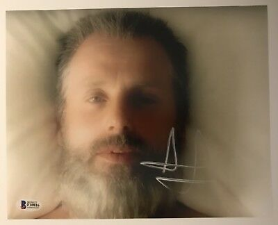 ANDREW LINCOLN Signed Autograph 8 X 10 WALKING DEAD RICK Old Man BAS COA JSA PSA