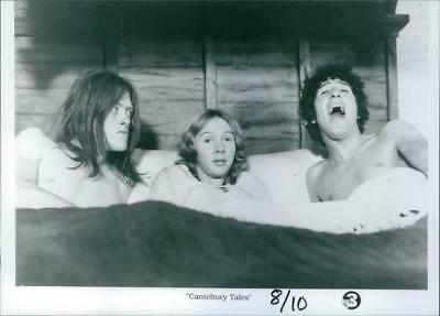 A scene from the 1972 film, The Canterbury Tales. - Vintage photo