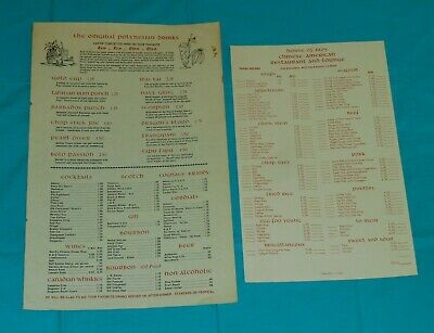 vtg HOUSE OF MOY RESTAURANT MENU & TAKE-OUT MENU West Palm Beach Florida Chinese